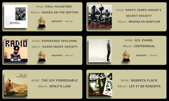 Discography | Brian Montgomery - Recording and Mixing Engineer
